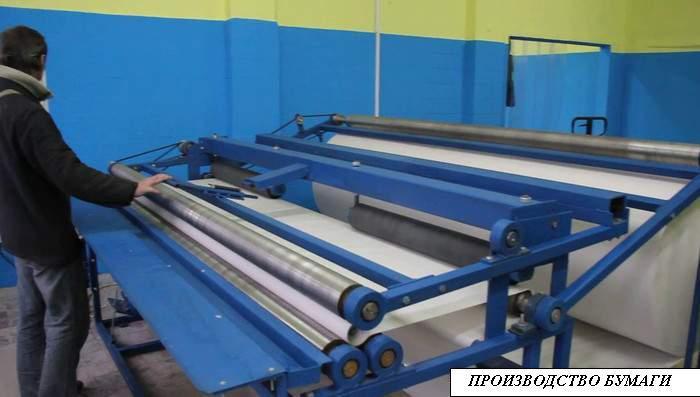 Оборудование для производство туалетной бумаги цена