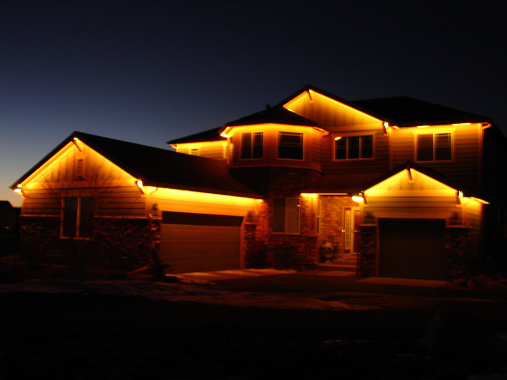 Как сделать освещение дома