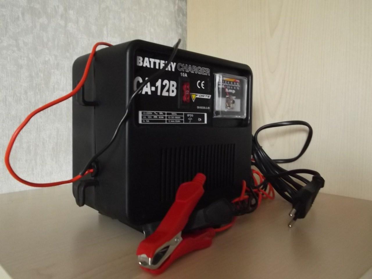 Зарядное устройство для автомобильного аккумулятора своими 72