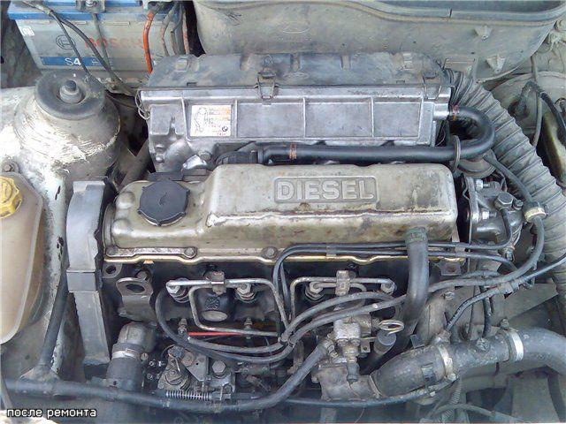 Форд замена двигателя на дизель