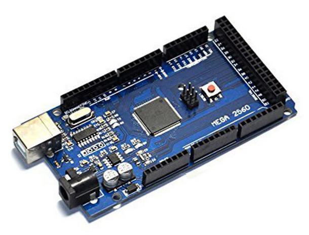 LCD Display Arduino Mega 2560 - YouTube