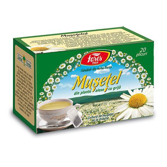 Ceaiul de musetel: proprietati, beneficii si contraindicatii