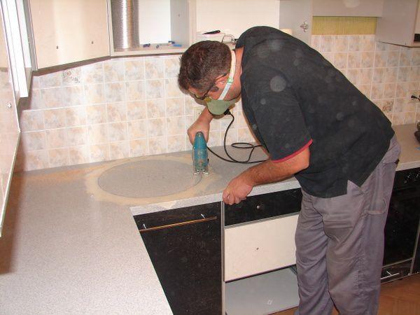 Как реставрировать столешницу кухонного гарнитура своими руками 52