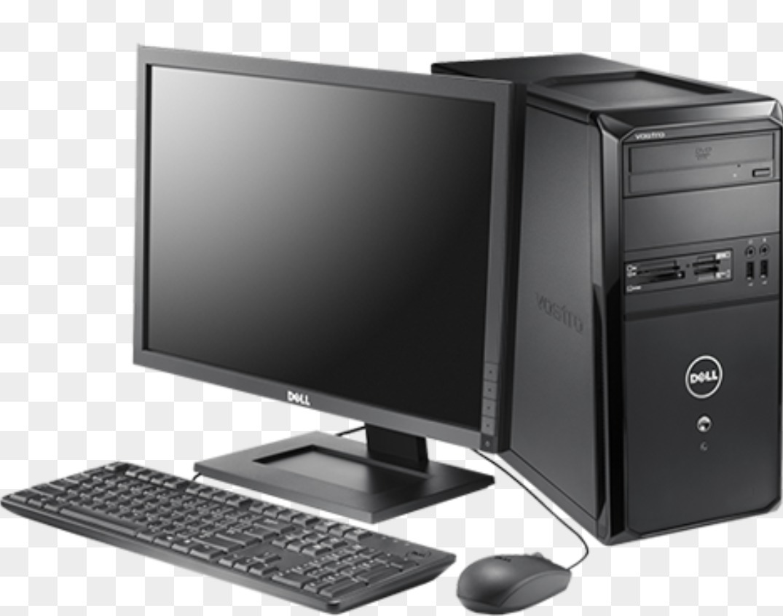 Картинка компьютера на прозрачном фоне