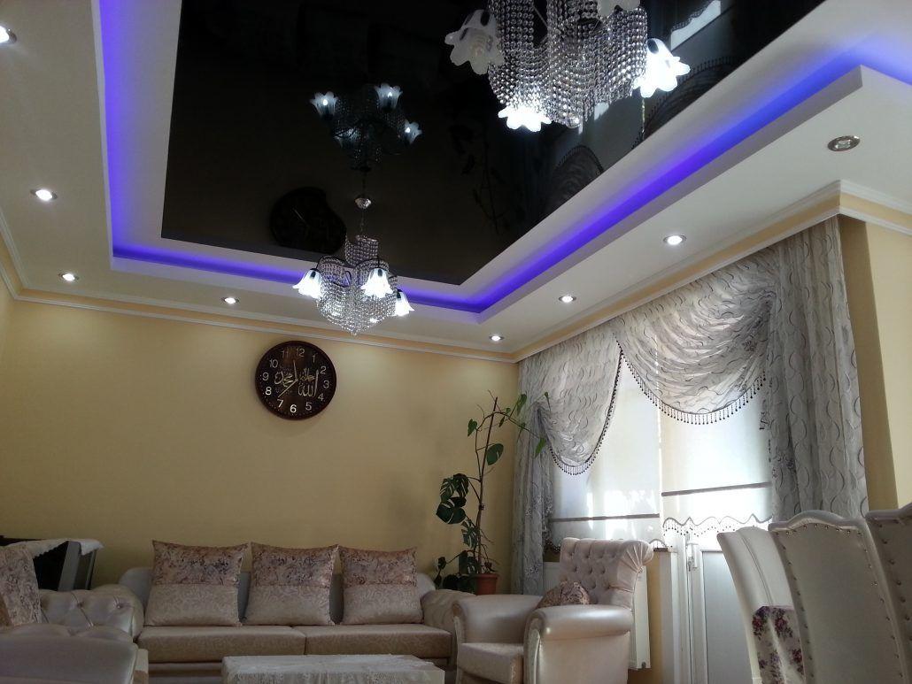 Потолки многоуровневые с подсветкой – почему это так красиво и интересно