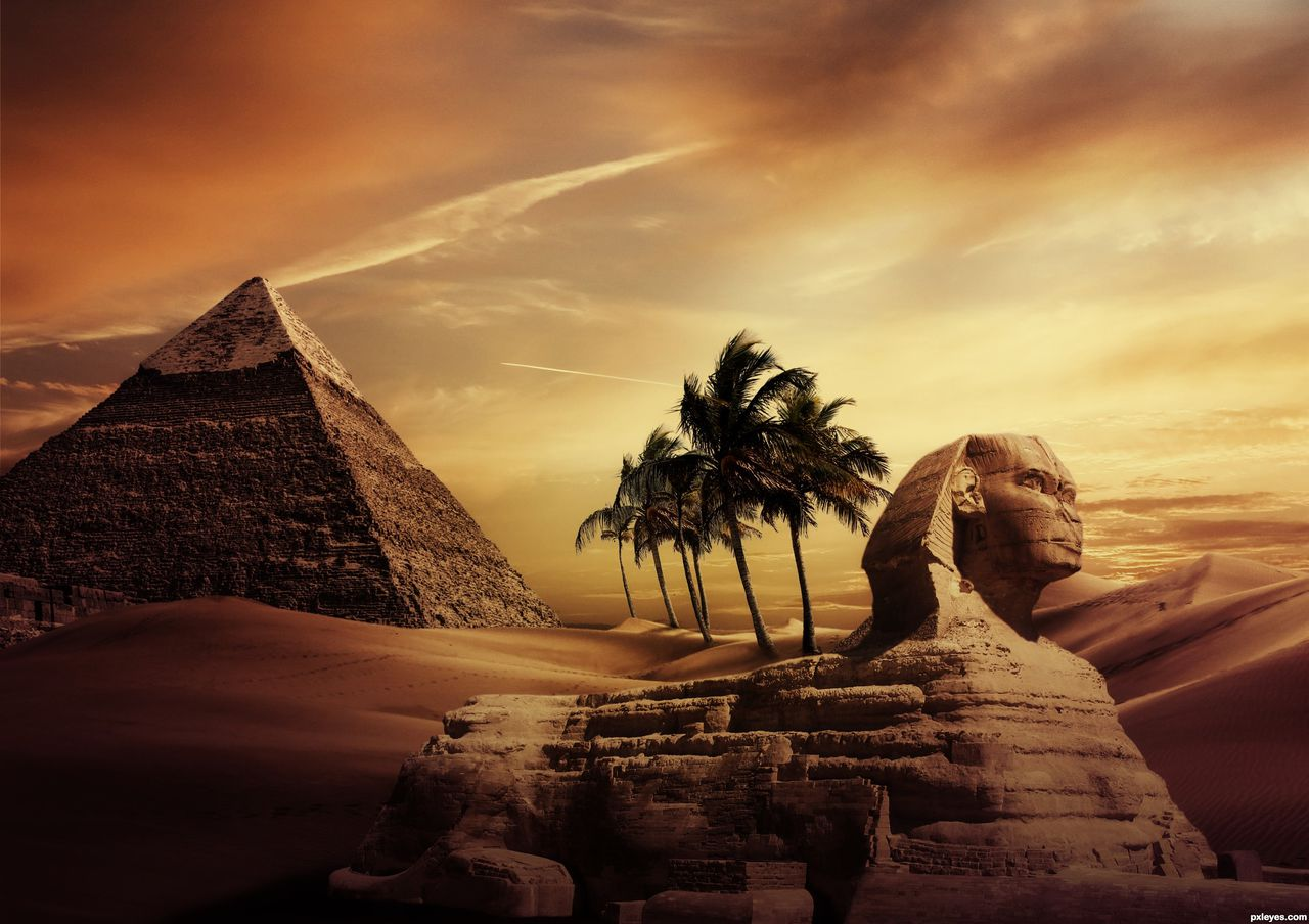pyramid background - photo #8