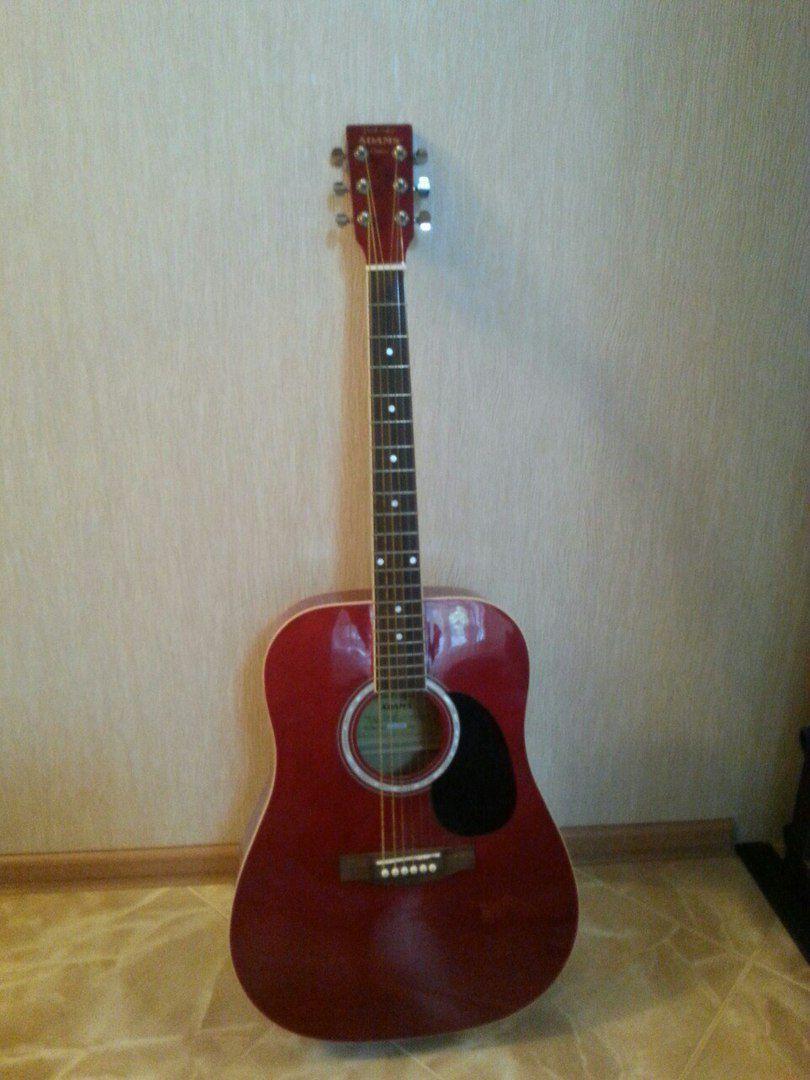 Фото гитара 6 струнная