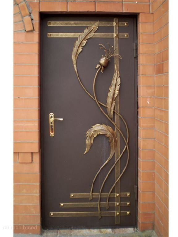 входные двери с художественной ковкой