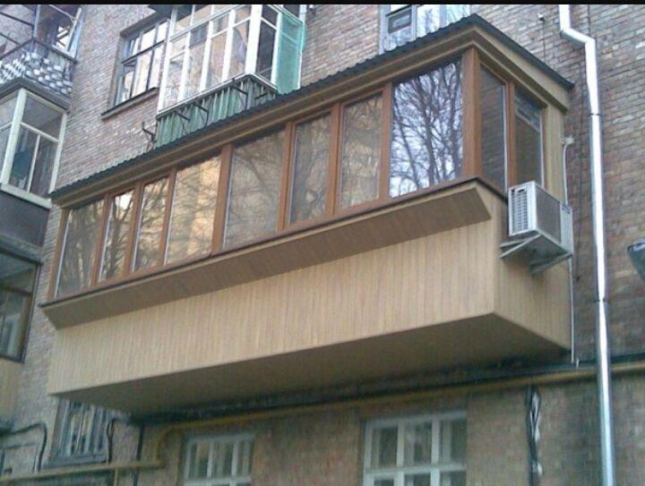 Как сделать балкон больше