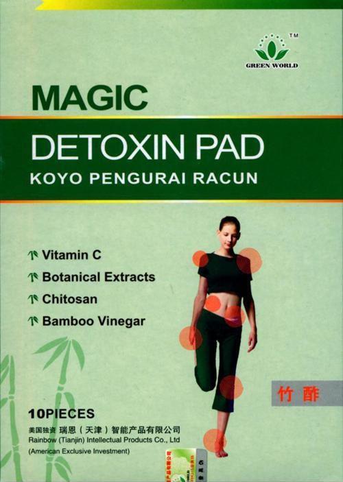 Plasturi detoxifiere green world