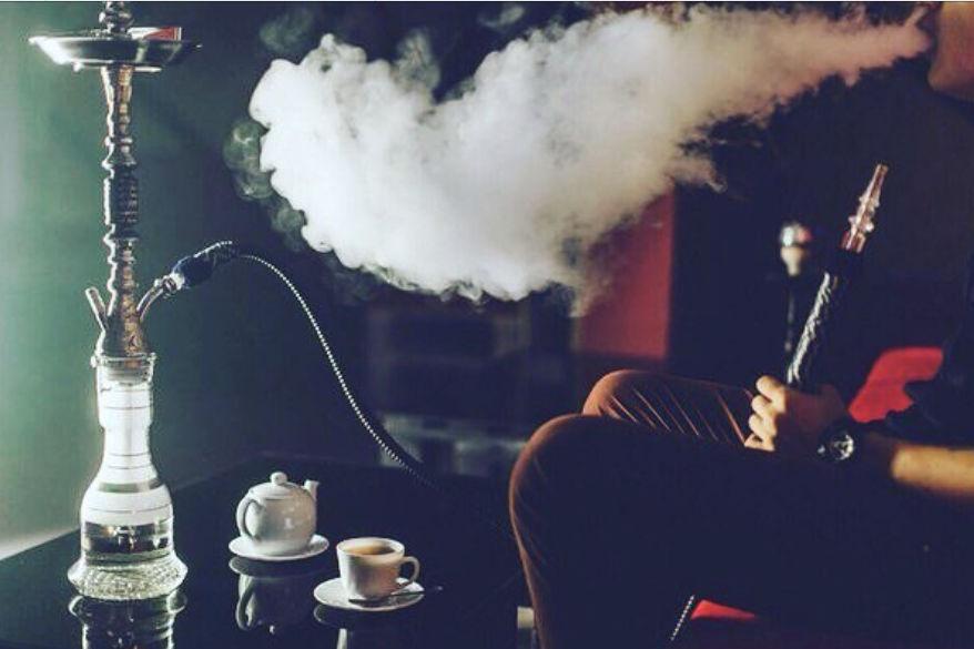 Картинки курения кальянов