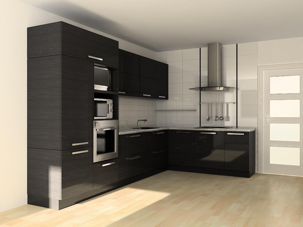 Дизайн встроенной кухни фото