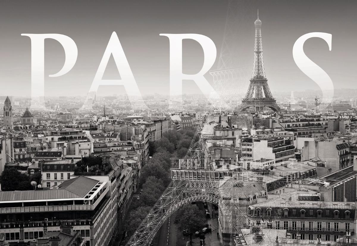 Париж картинки с надписью