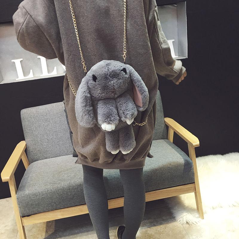 Сумка-рюкзак кролик - marketruru