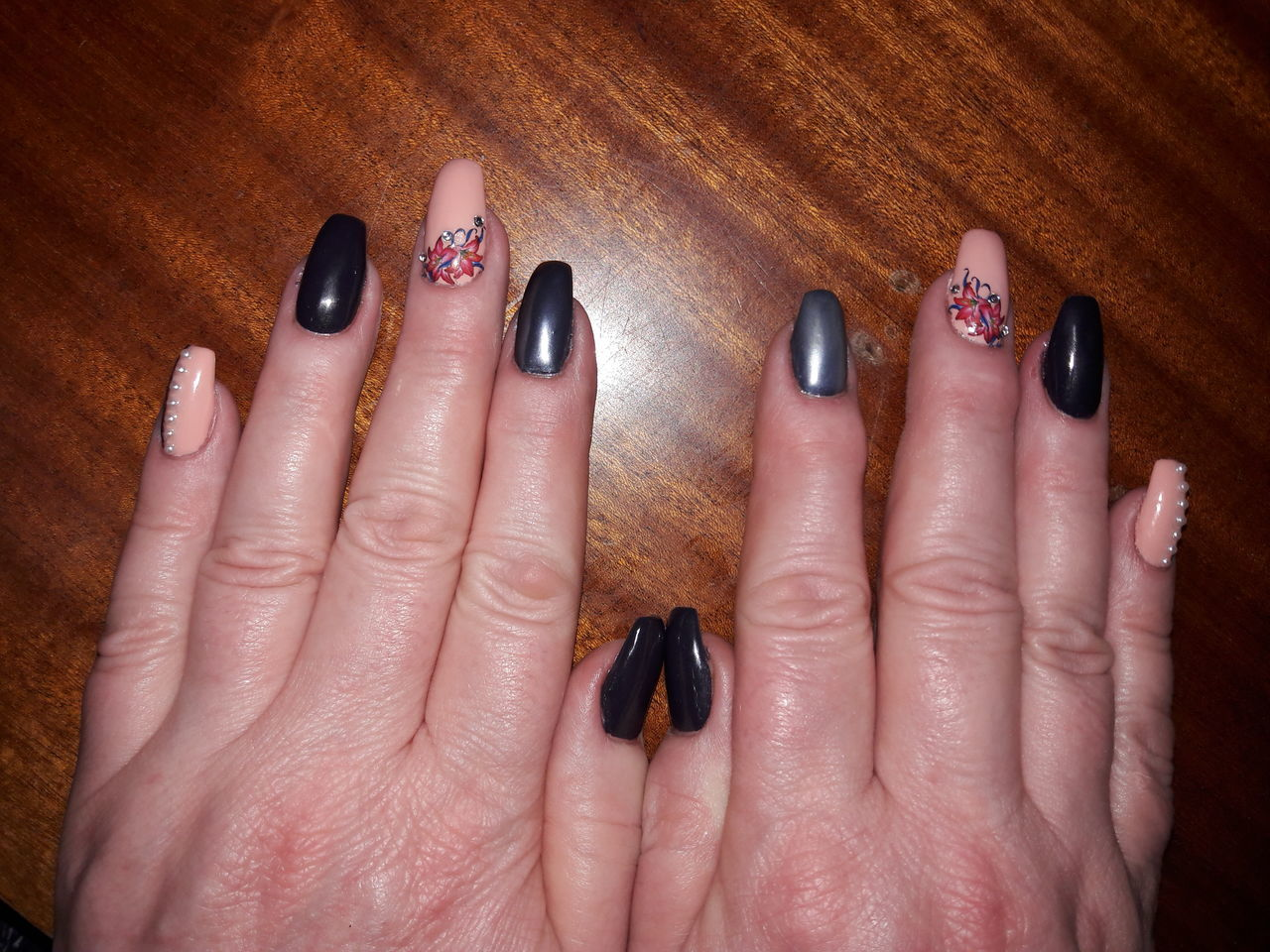 Длина нарощенных ногтей 3 фото