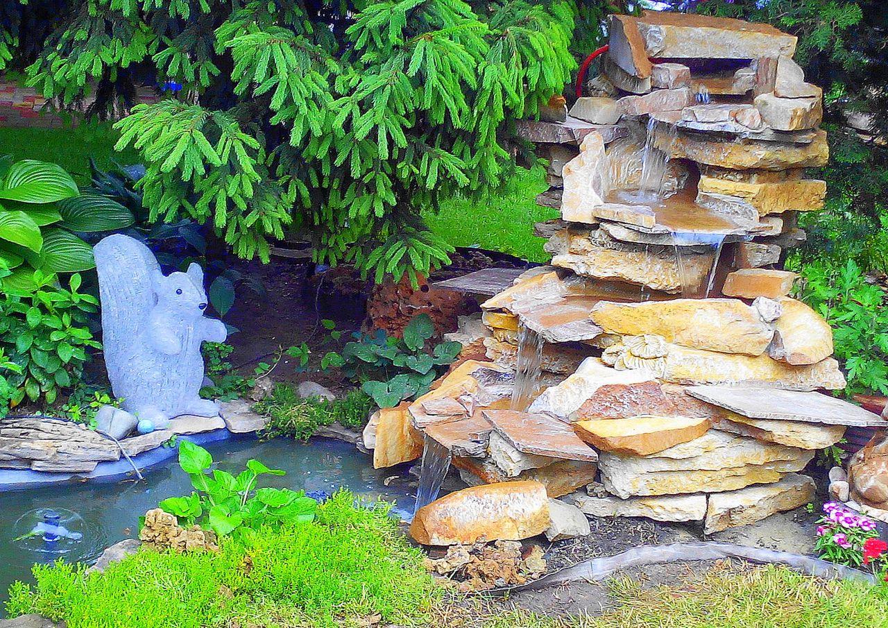 Декоративный водопад своими руками » Самоделки 71