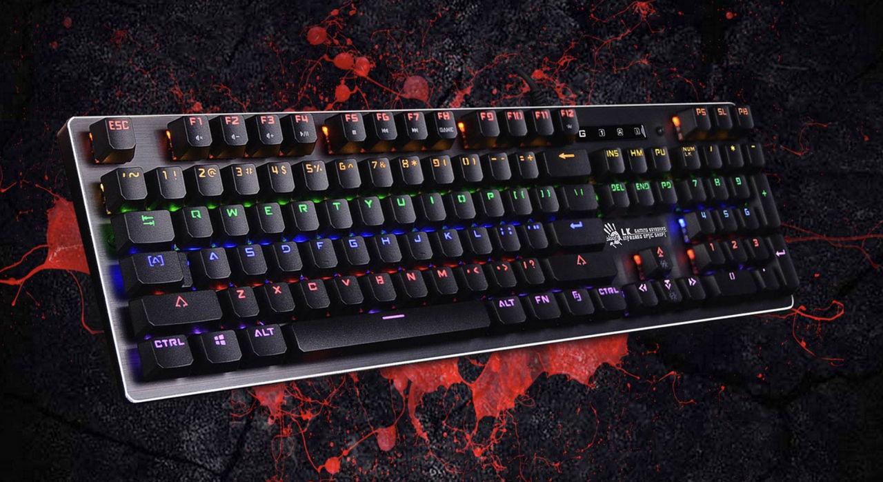 El bloody b760 mecánico/óptico usa la tecnología light strike bloody gaming
