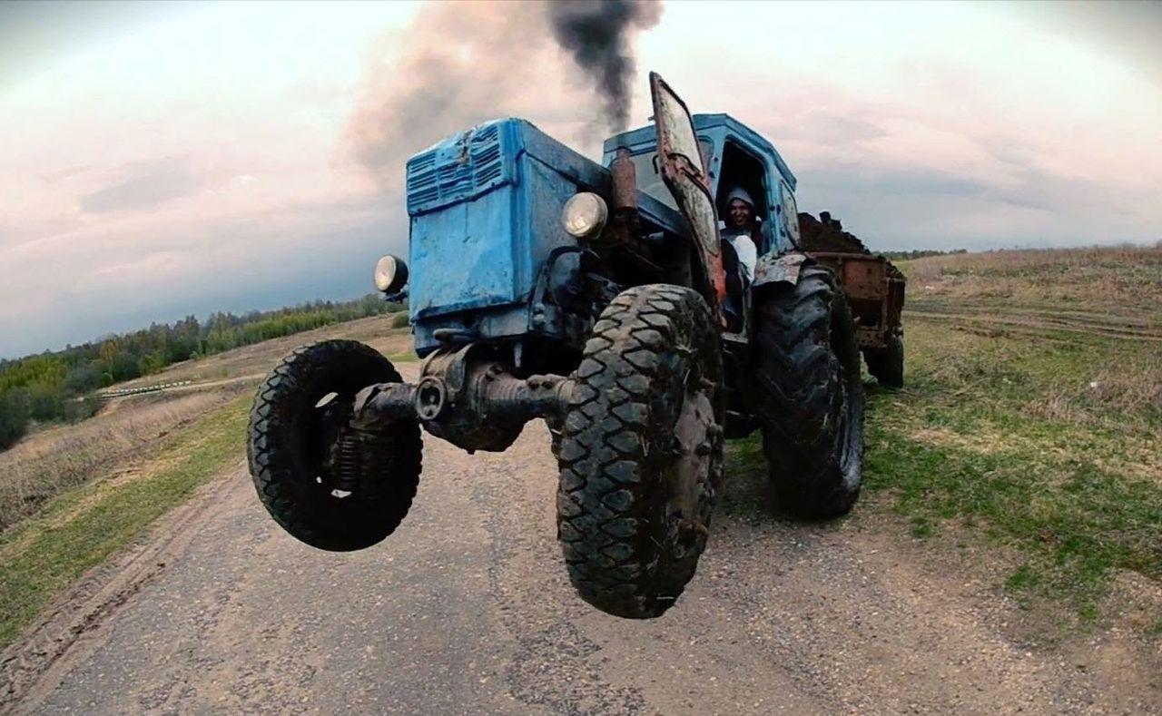 Детстве, картинки тракторист приколы