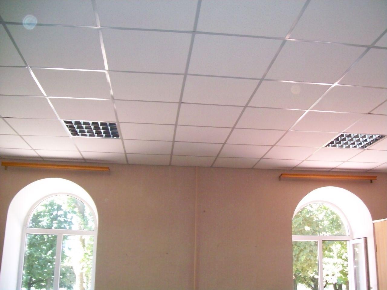Монтаж подвесных потолков своими руками армстронг фото