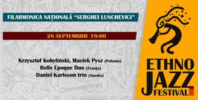 Ethno Jazz Festival 28 Septembrie 2019