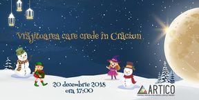 Spectacol interactiv Vrăjitoarea care crede în Crăciun