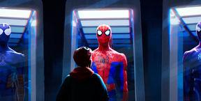 Человек-паук: Через вселенные 3D (Ро)