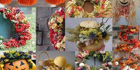 Осенний фестиваль - курс флористики для детей