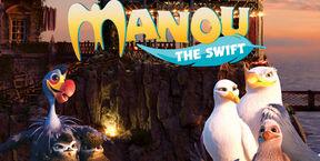 Manou - Aventuri în zbor 2D (Ro)