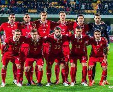 Сборная Молдовы продолжает готовиться к матчу с командой Австрии