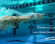 Ești gata să te perfecționezi? Înscrie-te la antrenamentele de înot ale Sporter Club