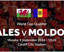 Отборочный матч ЧМ-2018 по футболу Уэльс-Молдова пройдет 5 сентября
