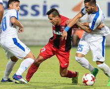 Заря проигрывает Аполлону во втором матче и покидает Лигу Европы