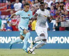 Барселона минимально обыграла МЮ на Международном кубке чемпионов