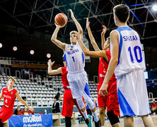 Сборная по баскетболу U-16 одержала вторую победу на Чемпионате Европы