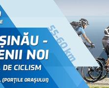 Turul ciclist de sâmbătă Chișinău - Anenii Noi împreună cu Sporter Club