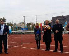 В селе Загаранча открыли первый теннисный корт