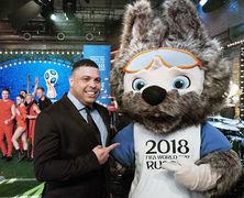 Талисманом чемпионата мира по футболу 2018 стал волк Забивака