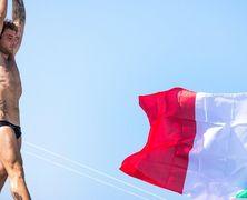 Алессандро Де Розе выиграл этап Мировой серии по клифф-дайвингу