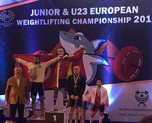 Ион Церна завоевал бронзу на Чемпионате Европы по тяжелой атлетике