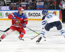 Сборная России обыграла Финляндию и вышла в полуфинал Кубка мира по хоккею
