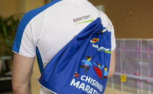 Look at the new backpack of the second Chisinau Marathon
