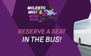 Reserve a seat in the bus to Milestii Mici Wine Run