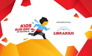 "LIBRARIUS este partenerul oficial ""Kids Run Day 2019"""