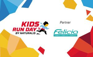 """Felicia supports the little champions of """"KIDS RUN DAY"""""""