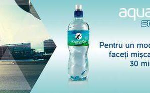 Aqua unIQa Sport – официальная вода Purcari Wine Run