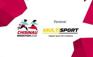 """""""Multisport"""" îți garantează victoria la Maratonul din Chișinău"""