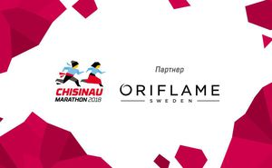 Oriflame - официальный партнер Chisinau International Marathon 2018