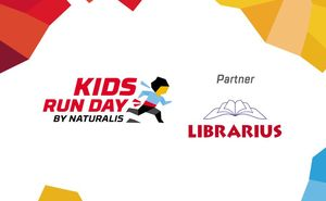 LIBRARIUS supports the little KIDS RUN DAY athletes