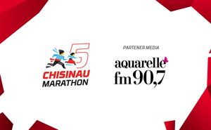 """Aquarelle FM susține cel de-al cincilea """"Maraton Chișinău""""!"""