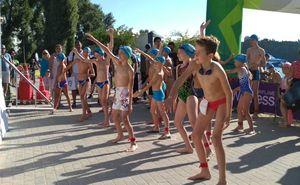 В Кишиневе проходит чемпионат по плаванию в открытой воде Sea Mile 2018